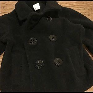 Black Pea Coat